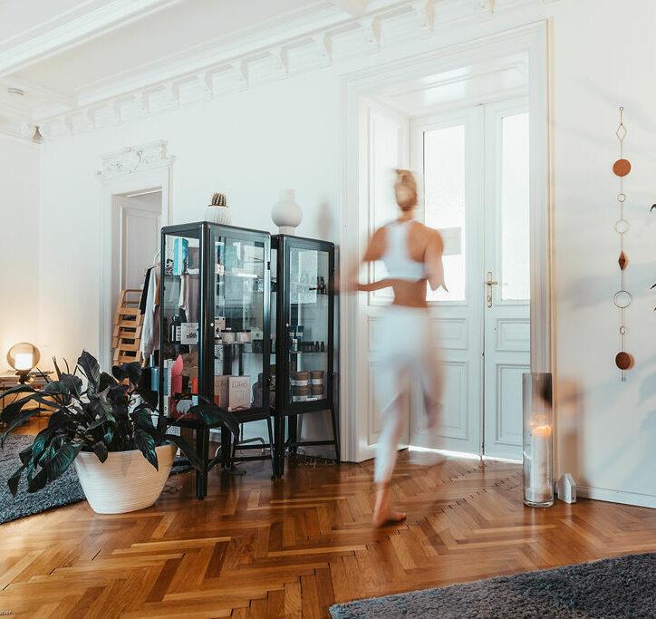 Eingang großer Yogaraum RE:TREAT