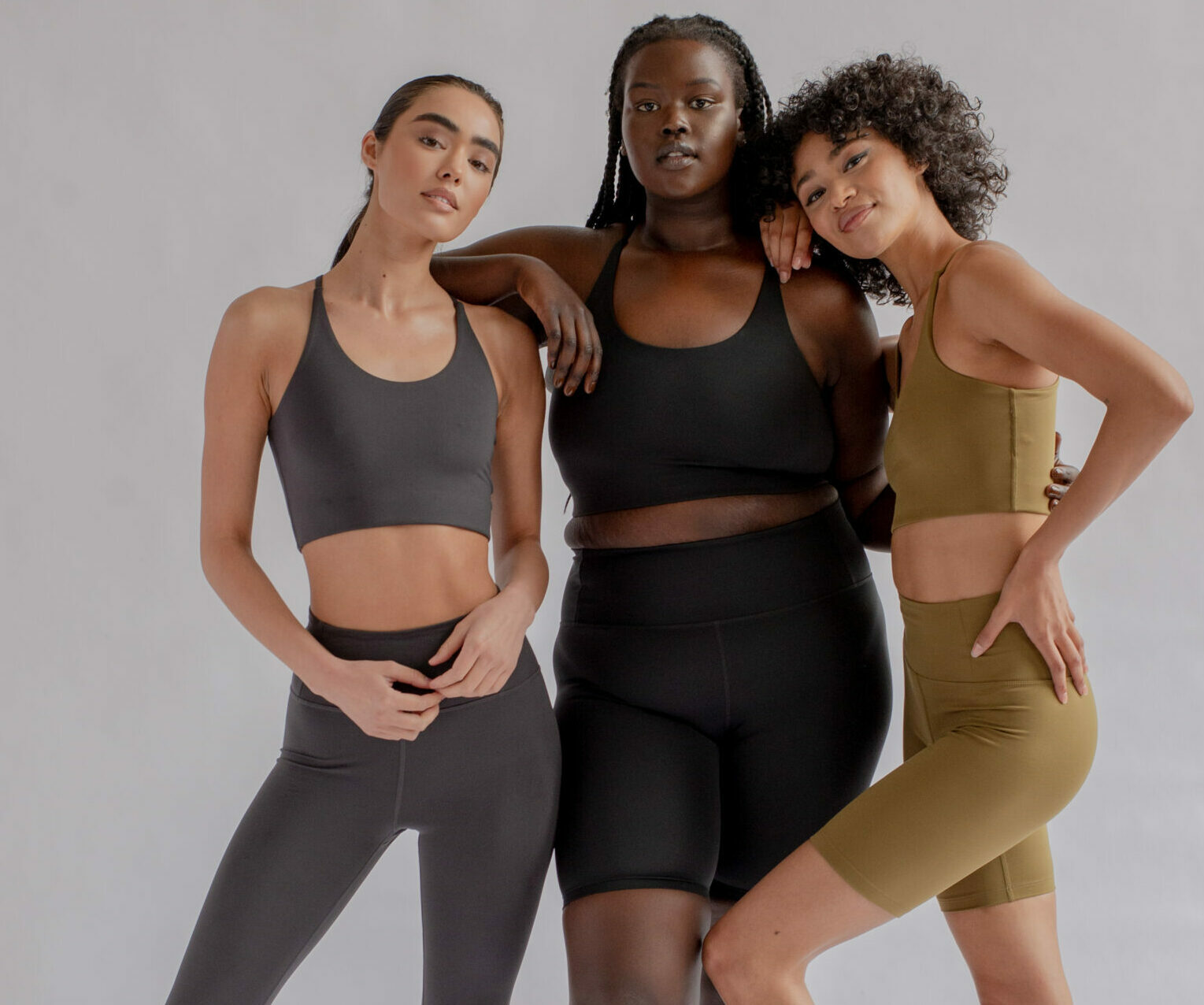 3 models showing the Fall/ Winter Girlfriend Campaign